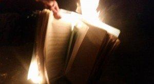 File burning