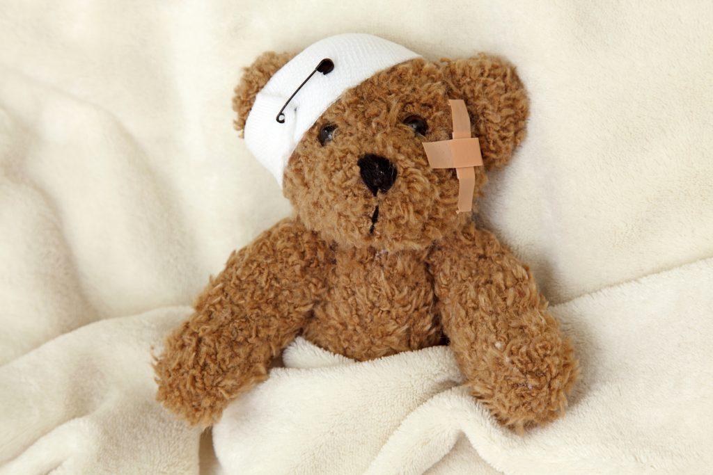 Poorly Bear