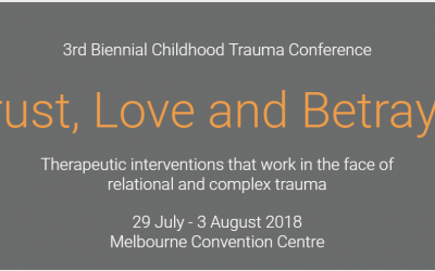 Childhood Trauma Conference Melbourne 2018